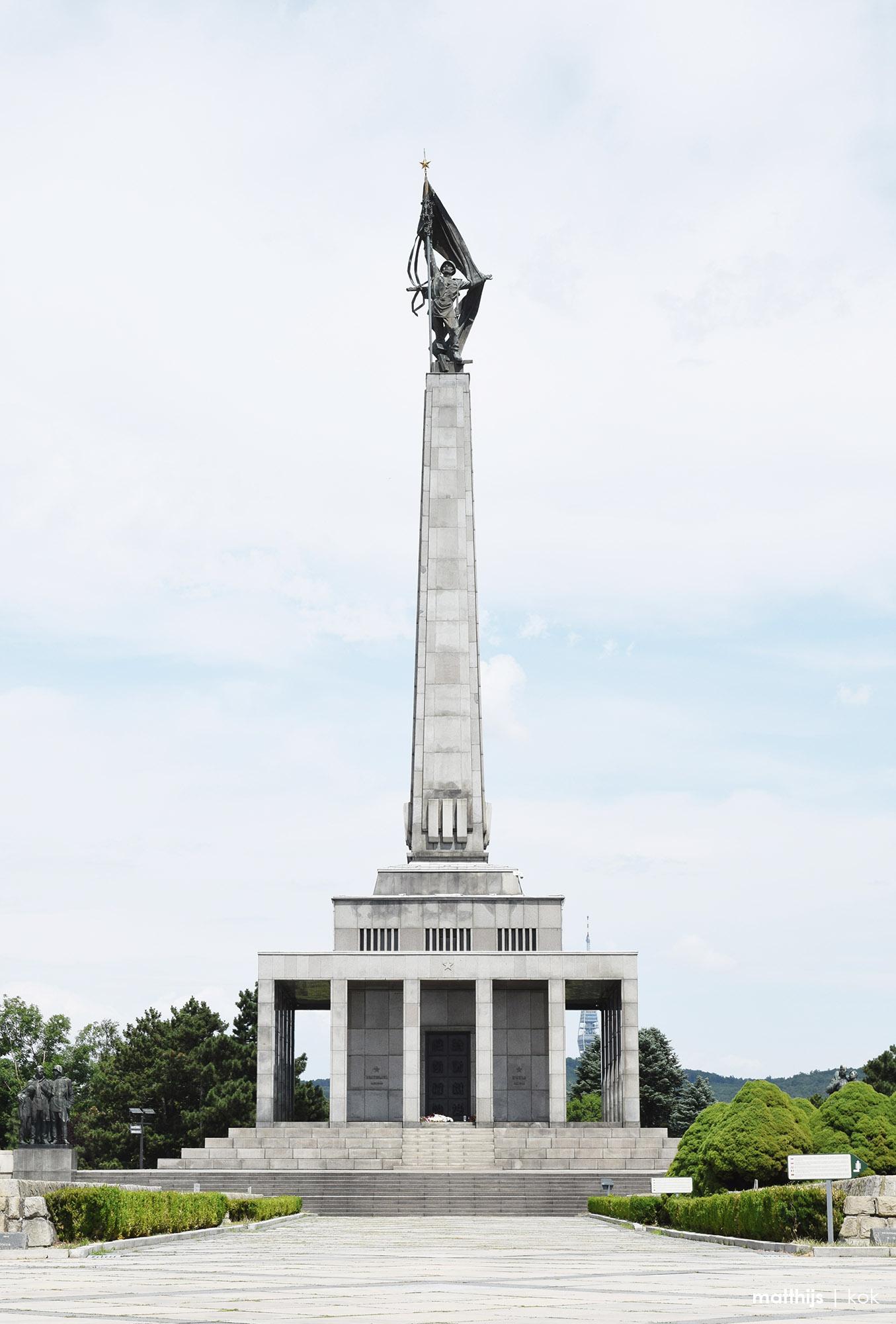 Slavín Monument, Bratislava, Slovakia | Photo by Matthijs Kok