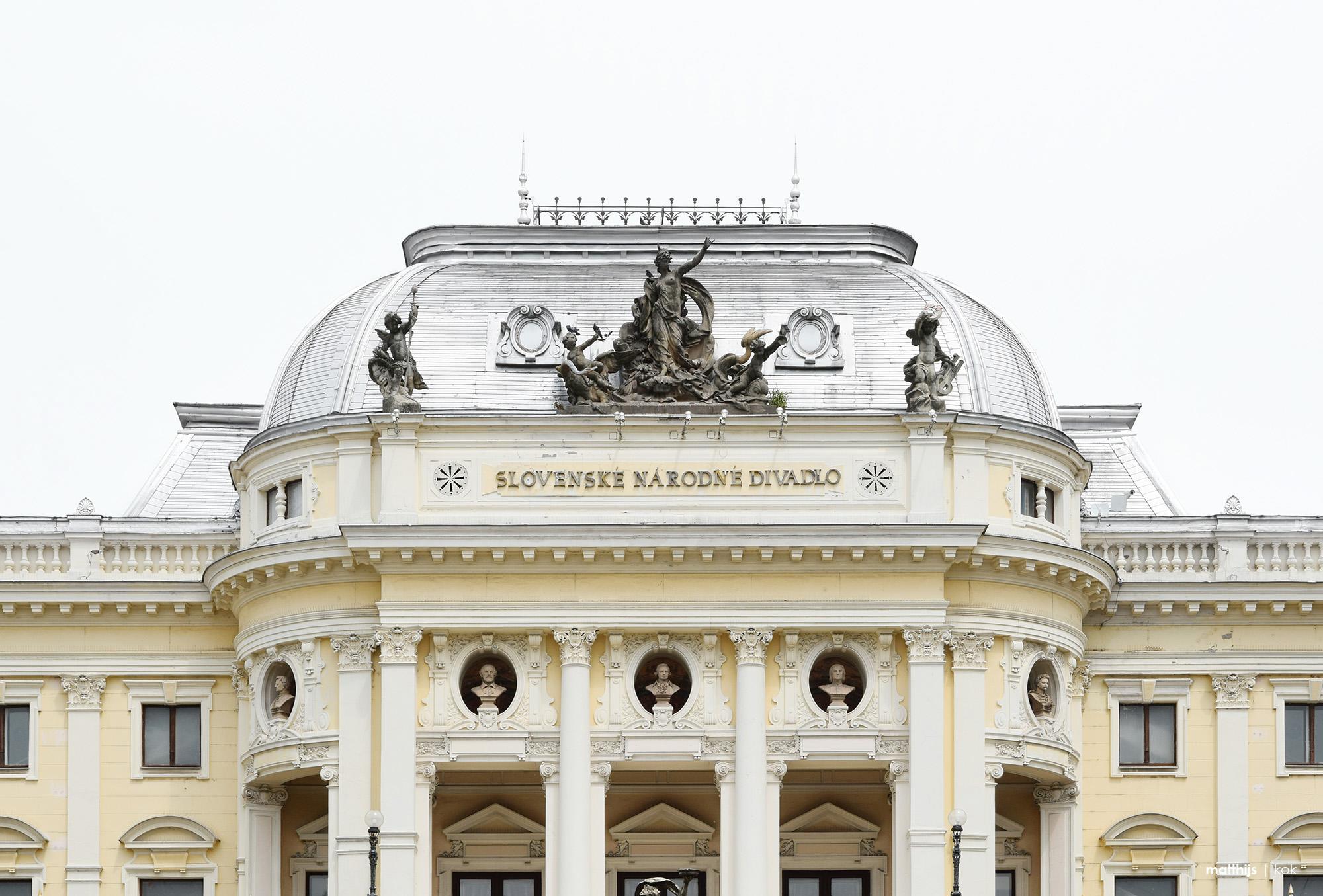 Slovak National Theatre, Bratislava, Slovakia | Photo by Matthijs Kok