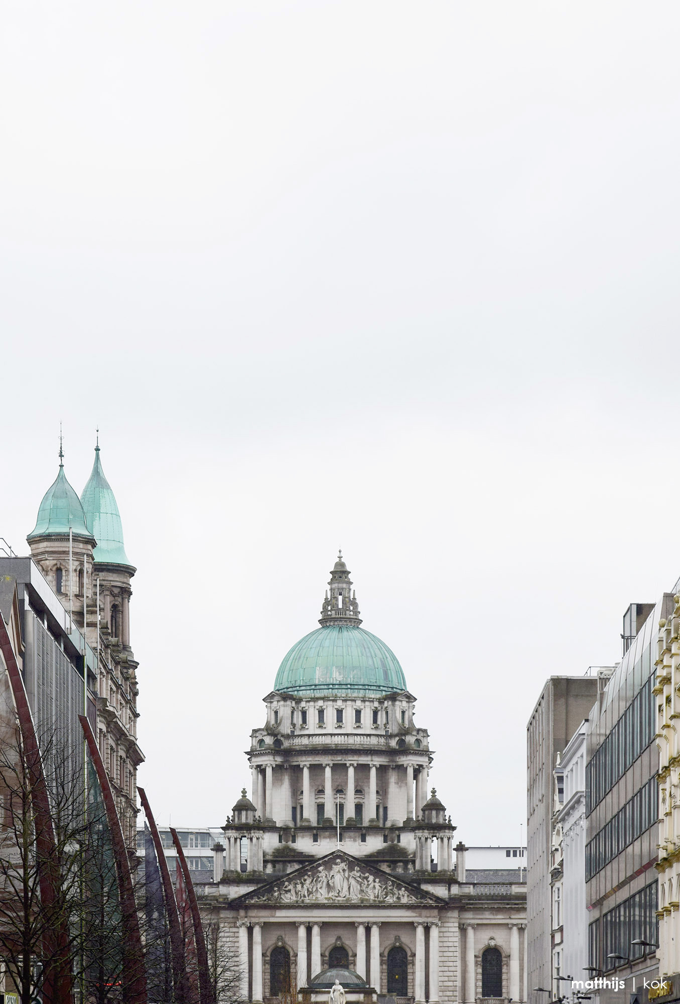 Belfast City Hall, Northern Ireland | Photo by Matthijs Kok