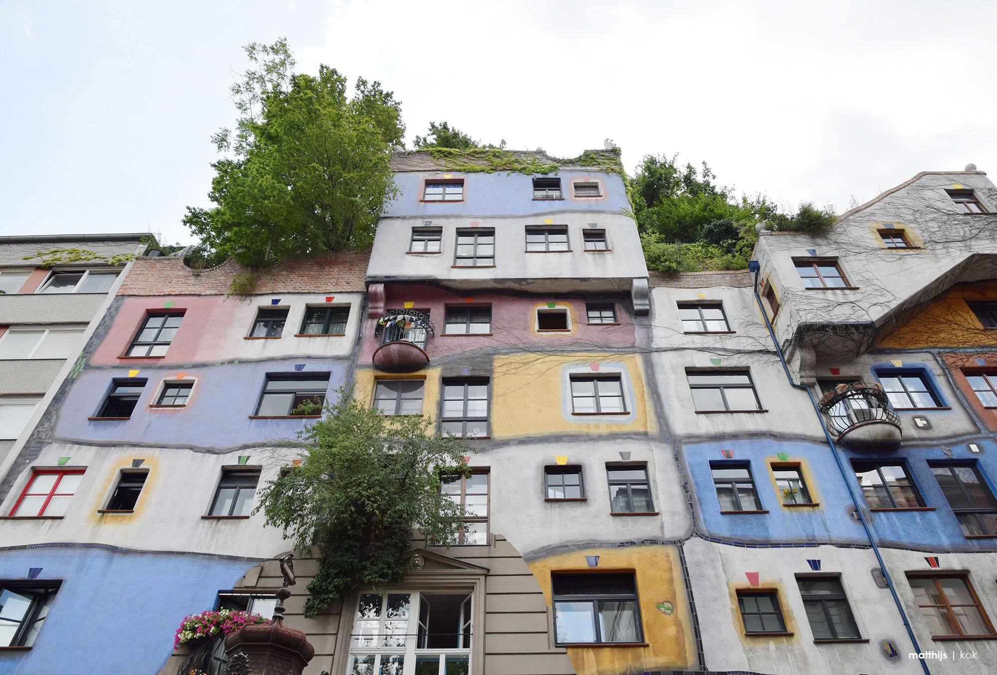Hundertwasserhaus, Vienna, Austria | Photo by Matthijs Kok