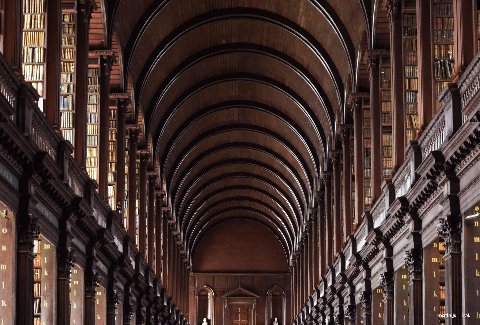 Old Library, Dublin, Ireland | Photo by Matthijs Kok