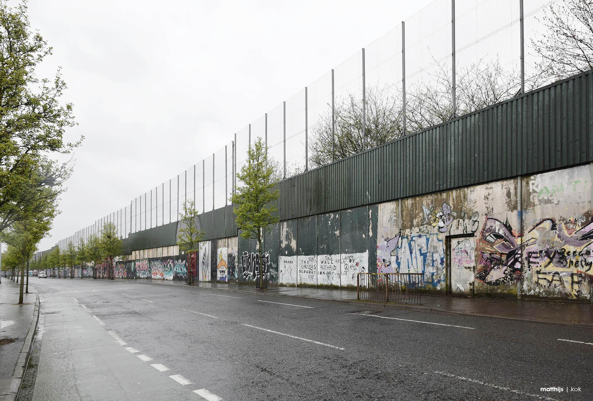 Peace Lines, Belfast, Northern Ireland | Photo by Matthijs Kok