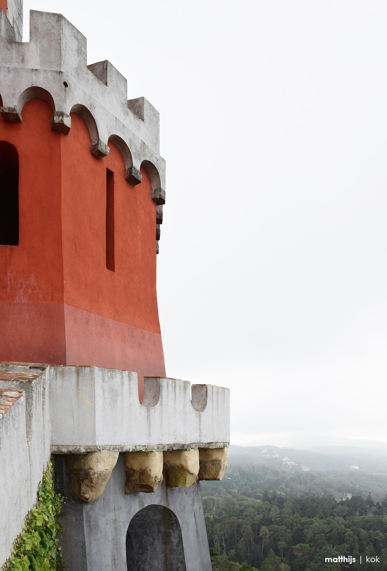Palacio Nacional da Pena, Pena Palace, Sintra, Portugal | Photo by Matthijs Kok