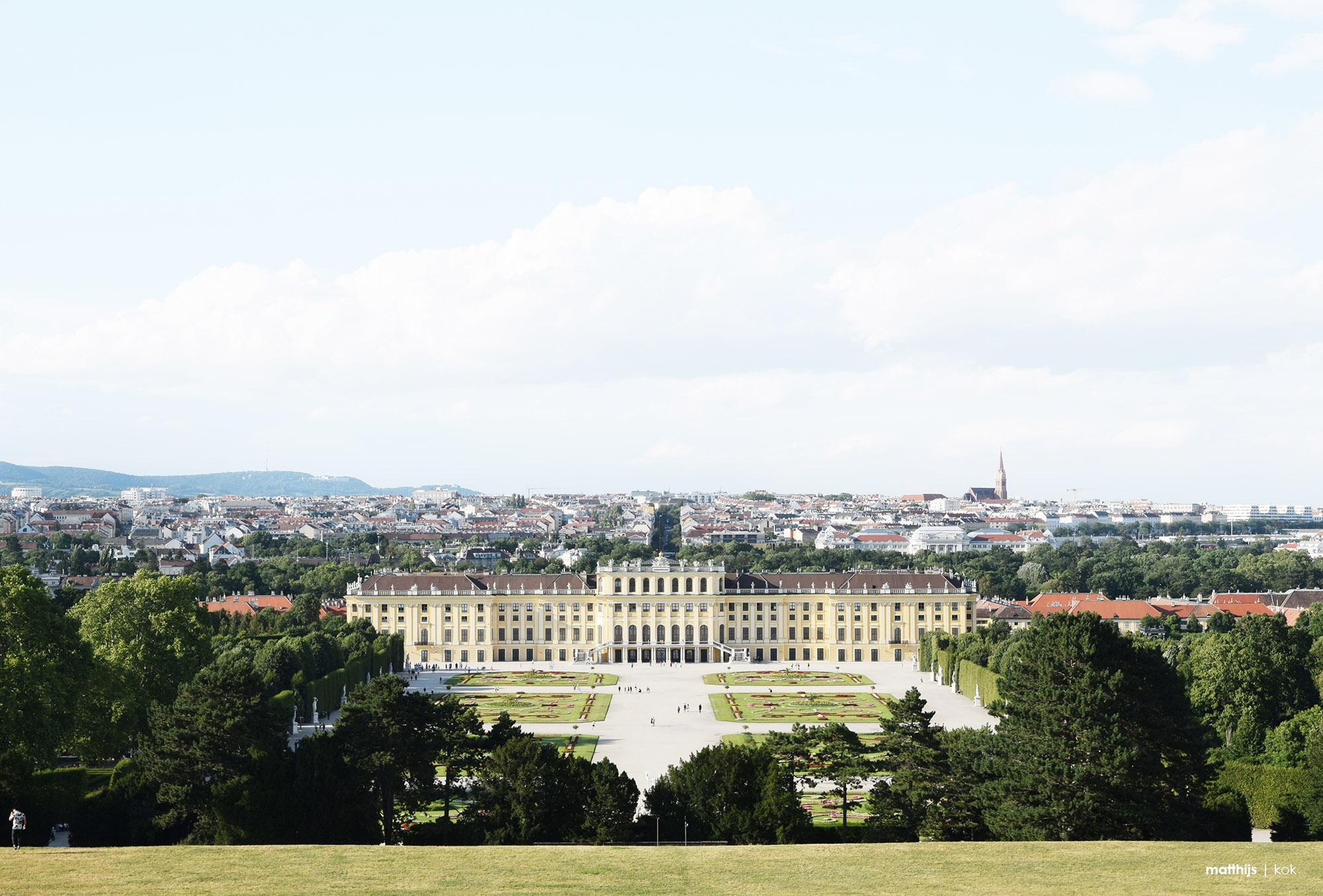 Schloss Schönbrunn, Vienna, Austria | Photo by Matthijs Kok