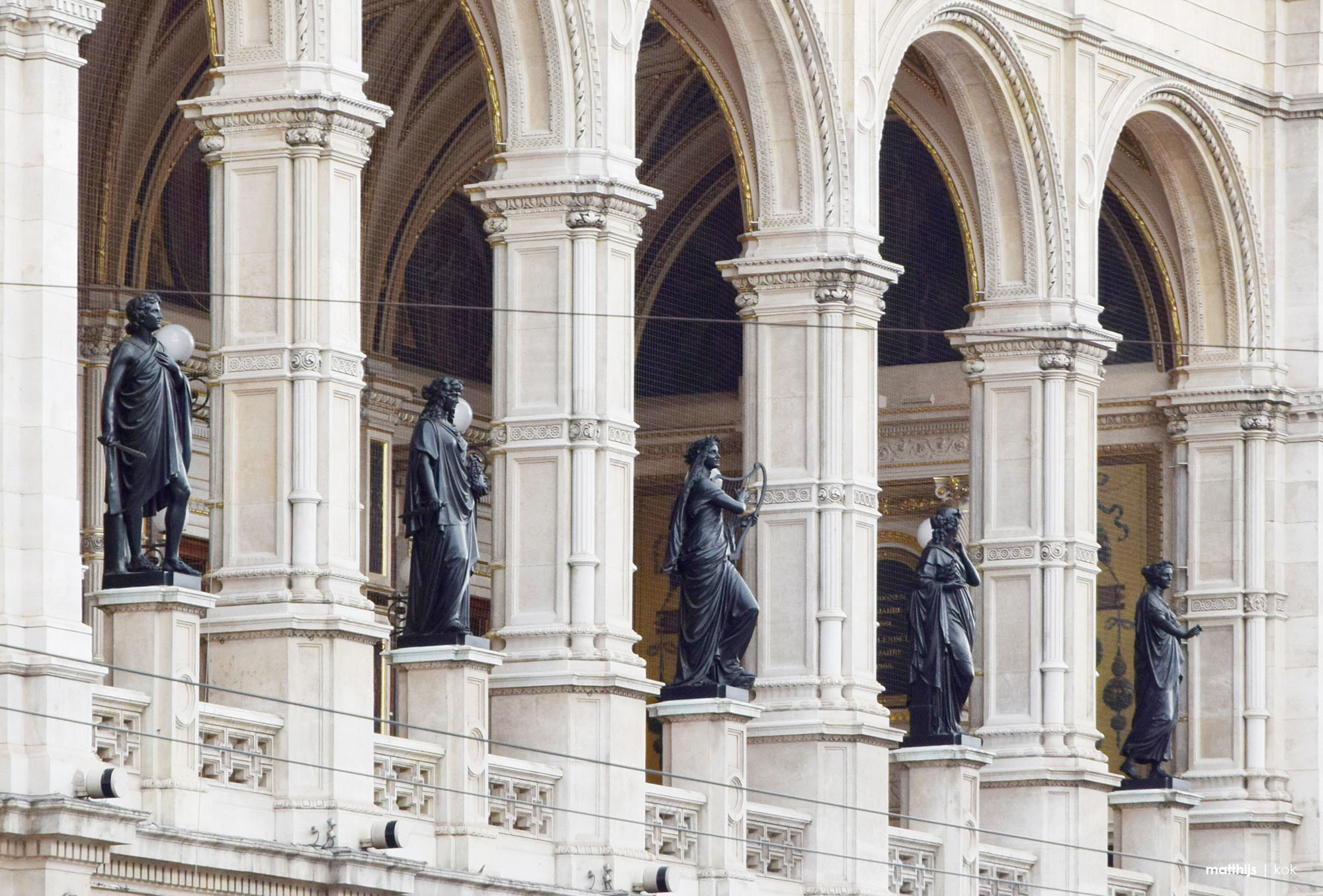 Wiener Staatsoper, State Opera, Vienna, Austria | Photo by Matthijs Kok