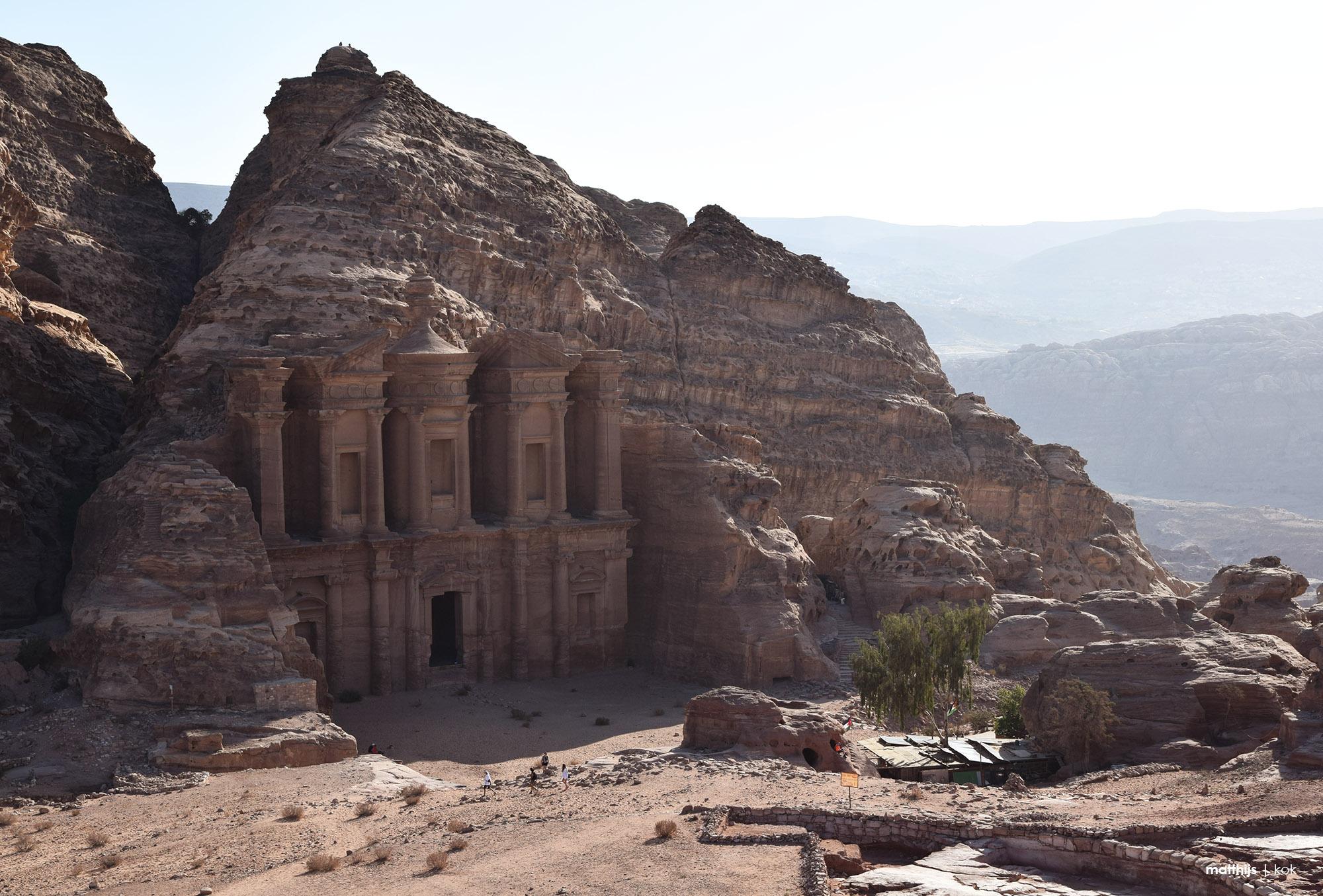 Ad Deir Monastery, Petra, Jordan | Photography by Matthijs Kok