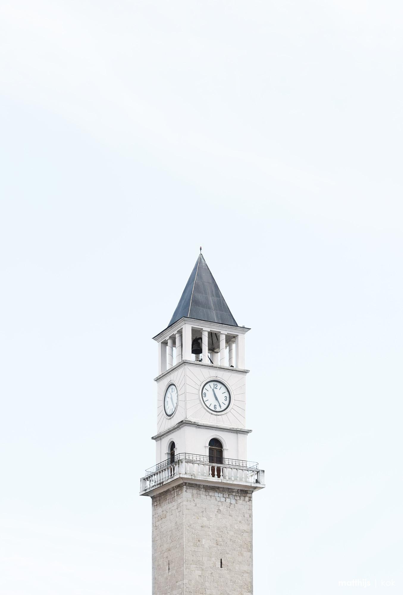 Clock Tower, Tirana, Albania   Photo by Matthijs Kok