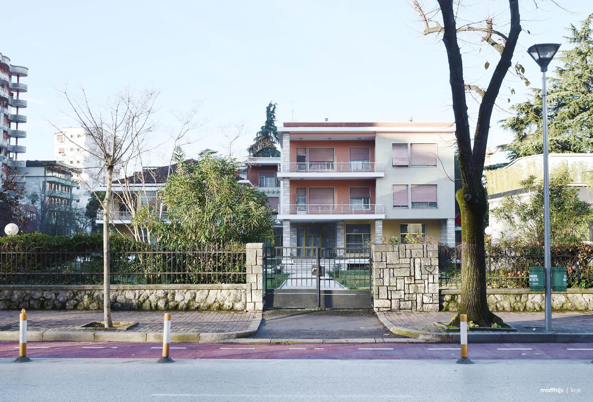 Former Villa of Enver Hoxha, Tirana, Albania | Photo by Matthijs Kok