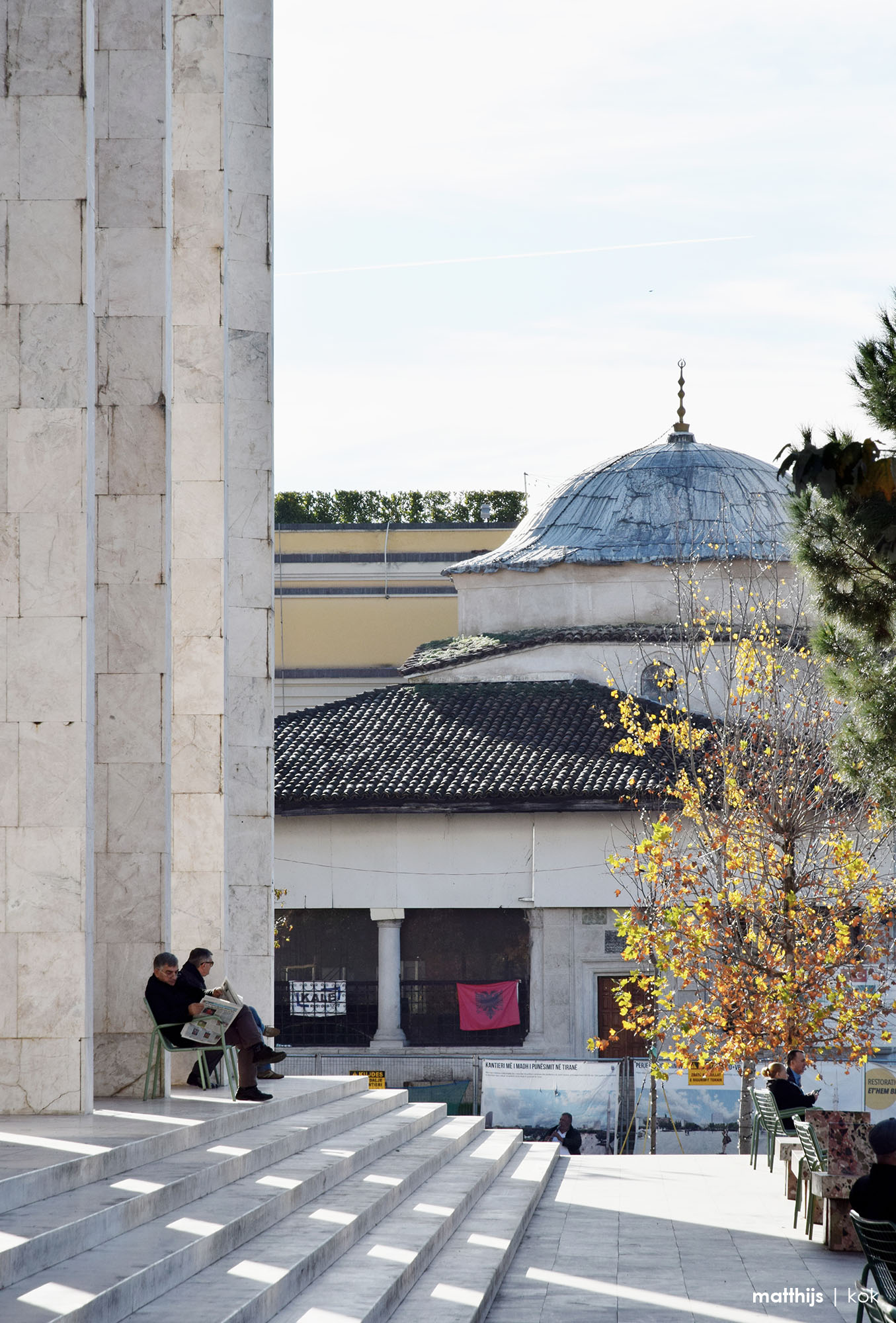 Skanderbeg Square, Tirana, Albania   Photo by Matthijs Kok