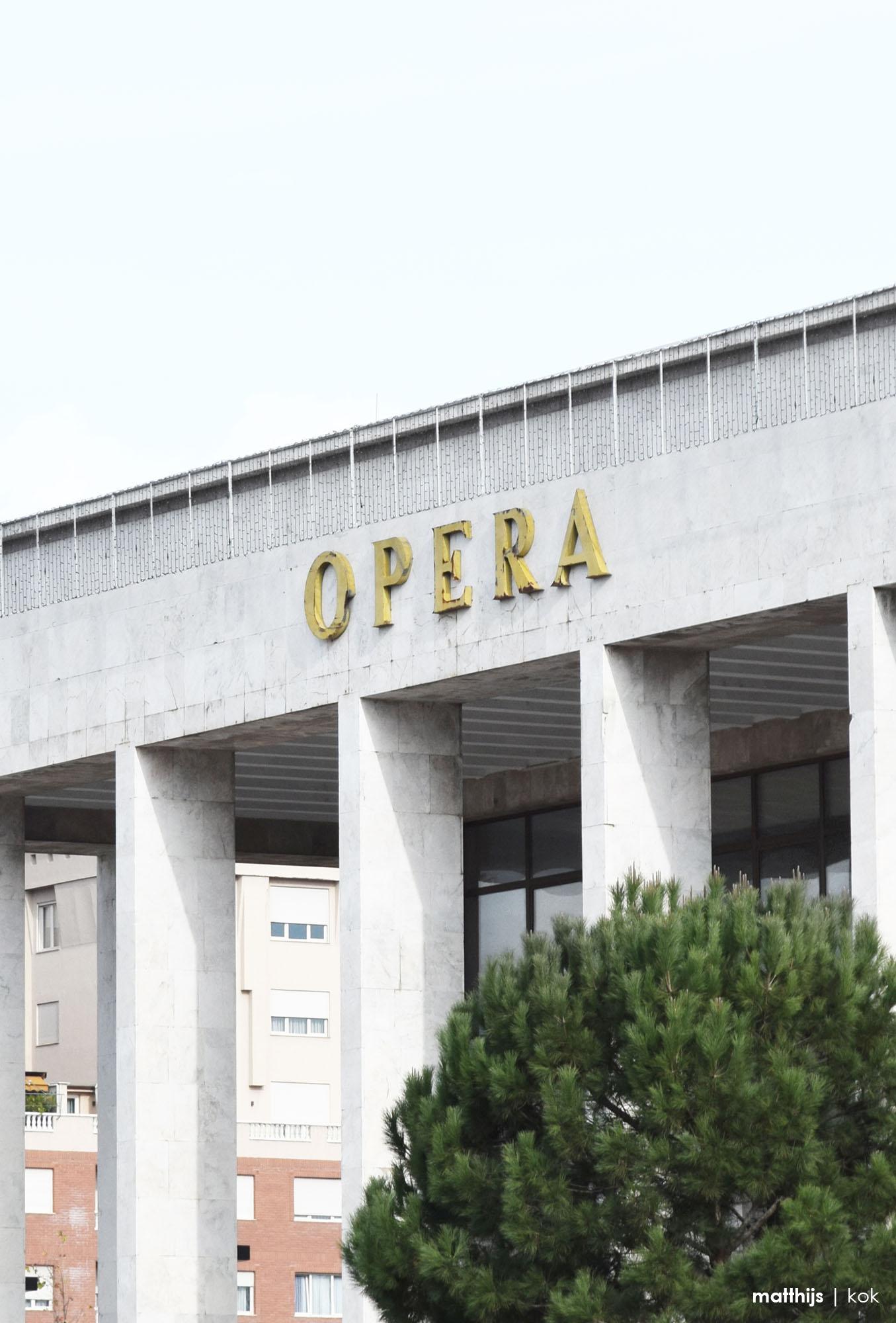 Palace of Culture, Tirana, Albania   Photo by Matthijs Kok