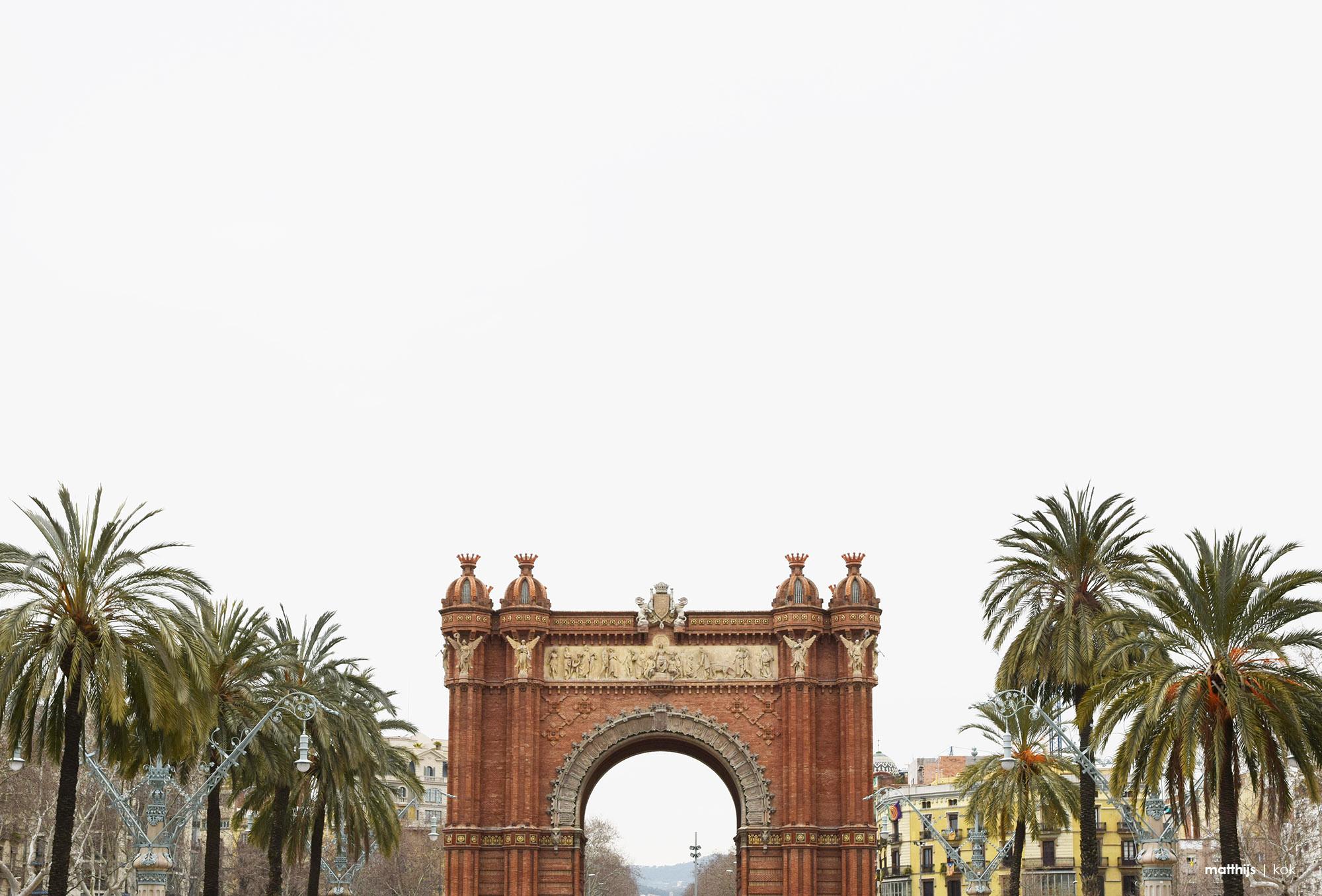 Arc de Triomf, Barcelona, Spain | Photo by Matthijs Kok