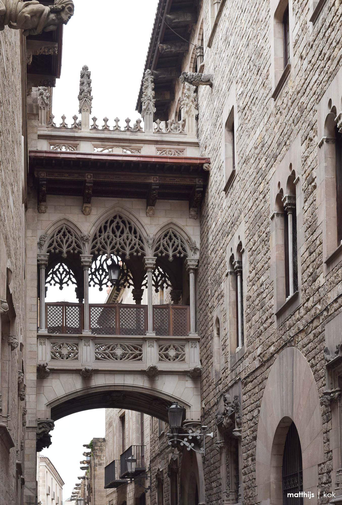 Barri Gòtic, Barcelona, Spain | Photo by Matthijs Kok