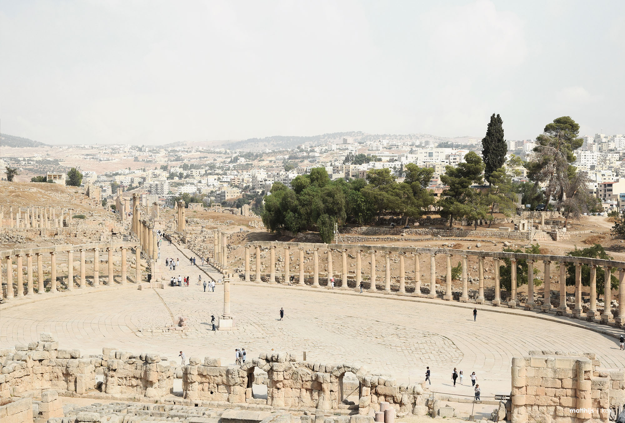 The Ancient City of Jerash, Jordan | Photo by Matthijs Kok