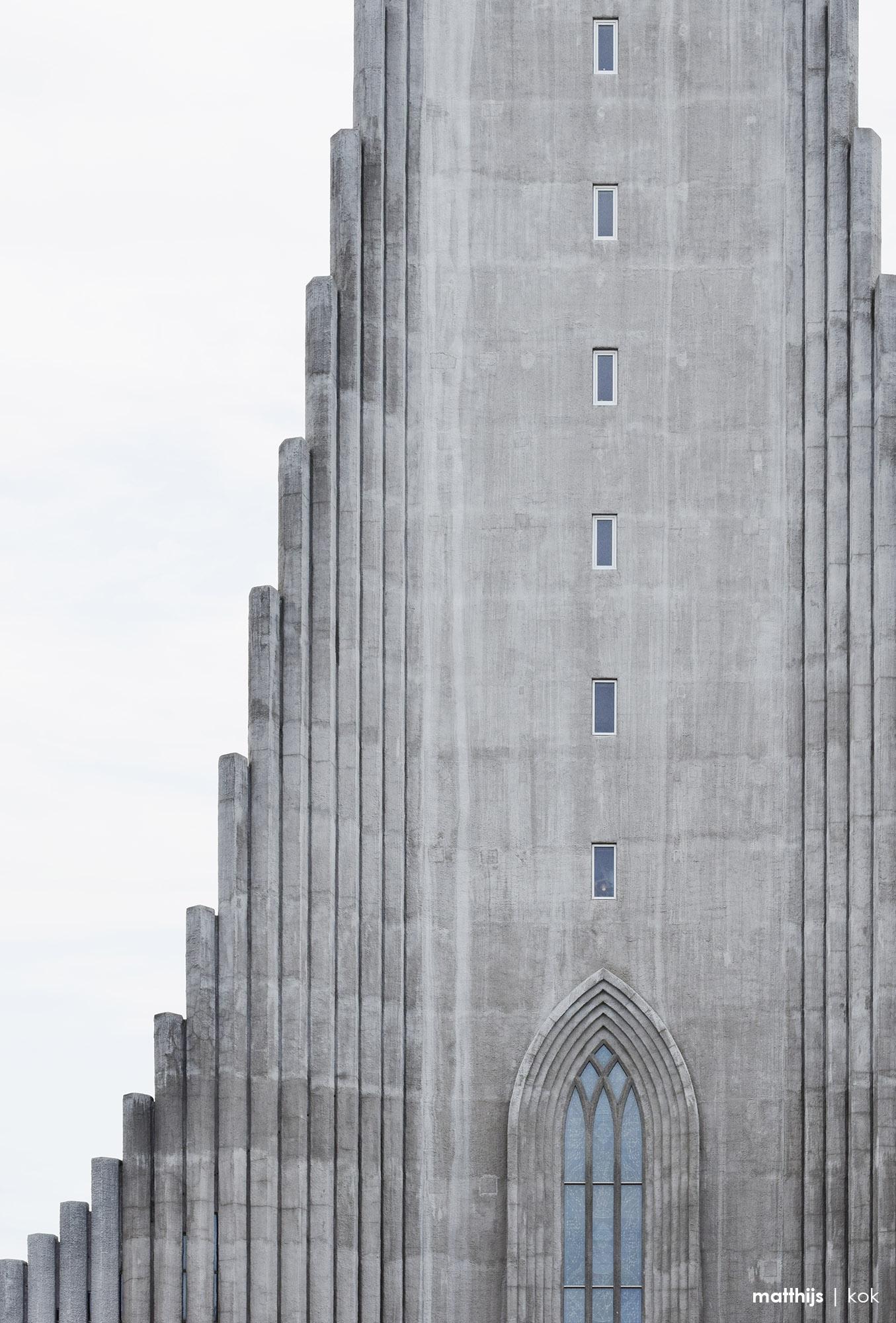 Hallgrímskirkja Architecture, Reykjavik, Iceland | Photo by Matthijs Kok