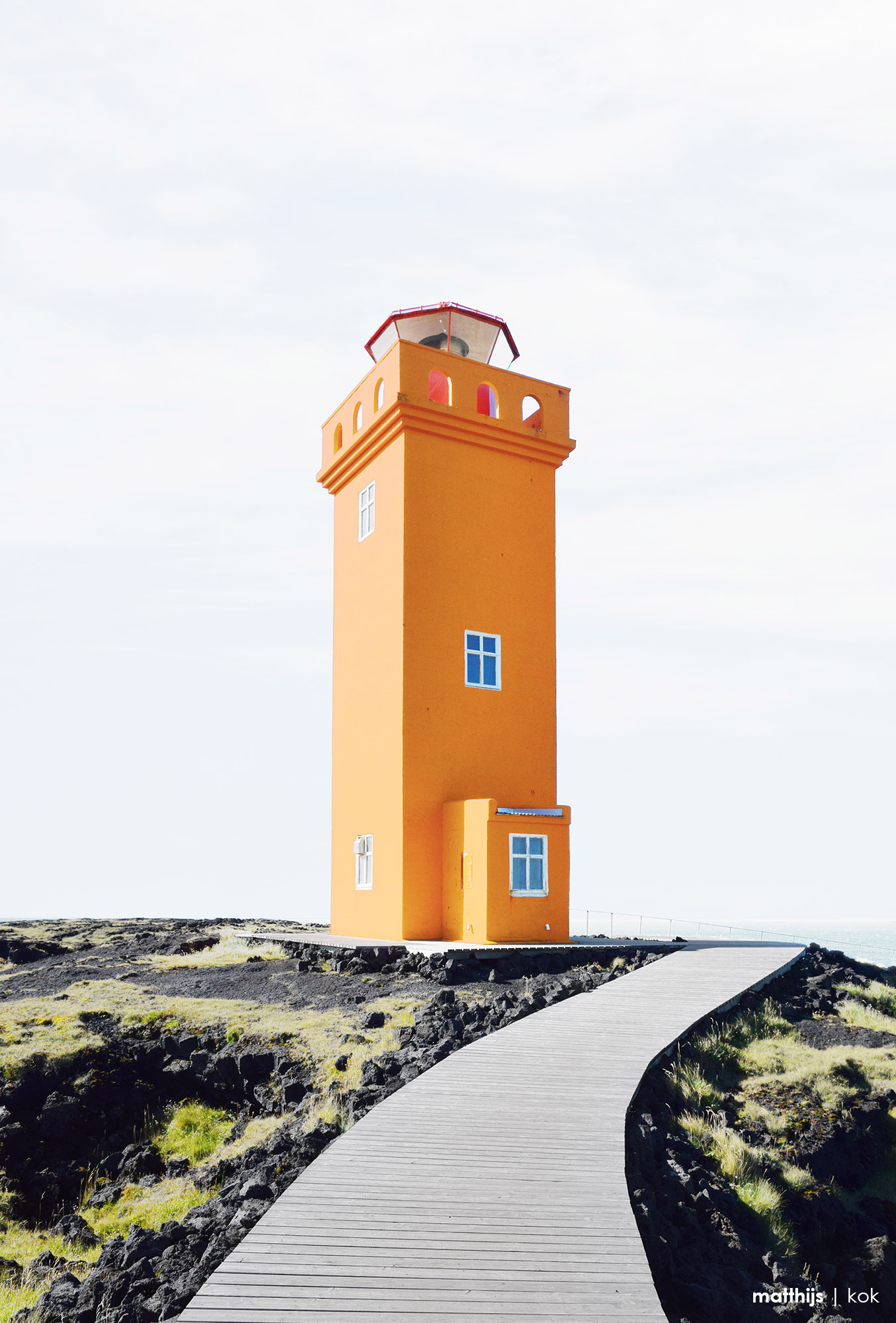 Svörtuloft Lighthouse, Iceland | Photo by Matthijs Kok