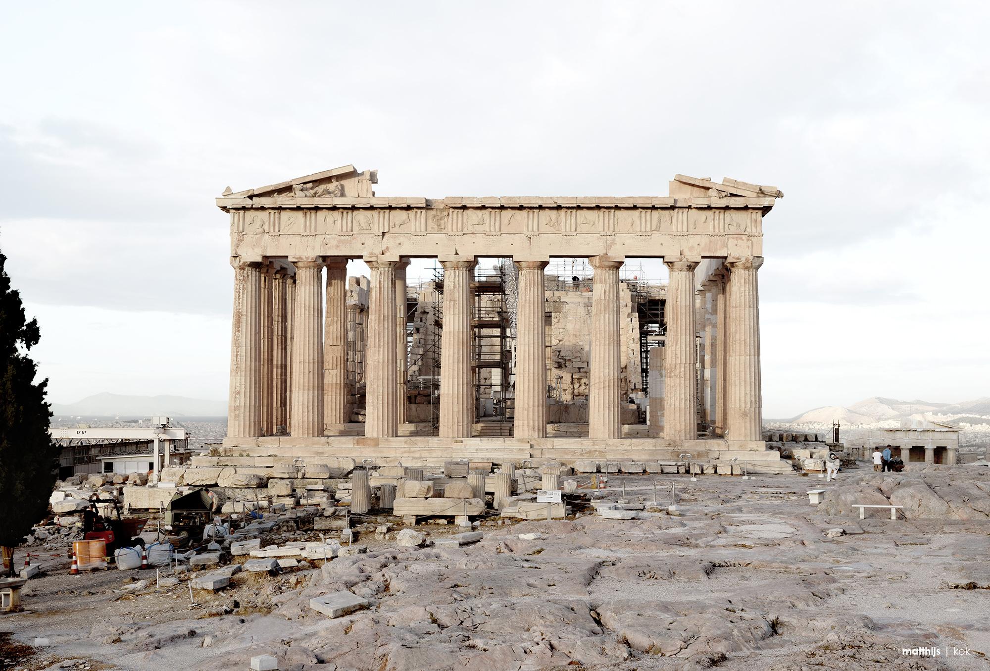 Parthenon, Athens, Greece | Photo by Matthijs Kok