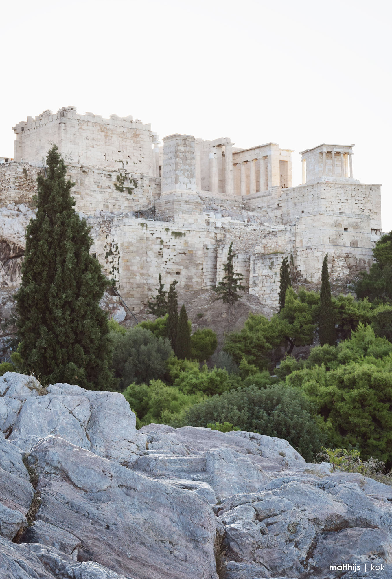 Acropolis of Athens, Greece | Photo by Matthijs Kok