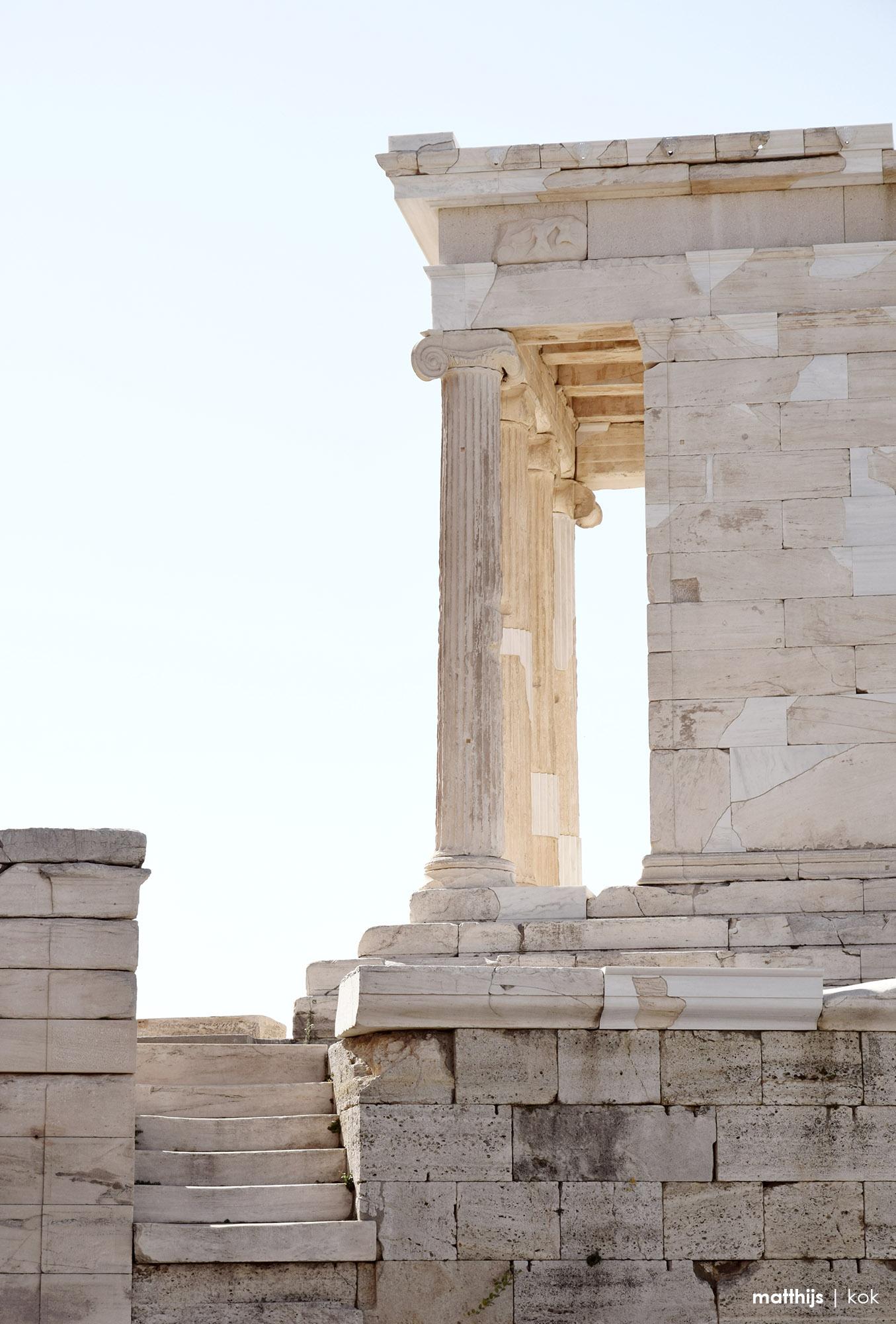 Temple of Athena Nike, Athens, Greece | Photo by Matthijs Kok